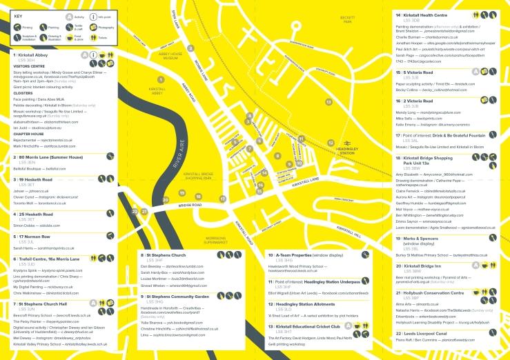 KAT 2017 Map