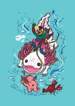 Axolotl with Elephant_Anukun_Hamala