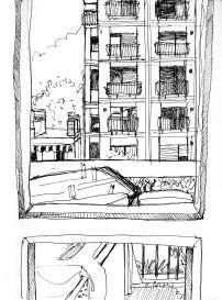 Urban sketch copy